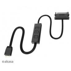 AKASA ovladač Vegas Controller Mate, 3-Pin aRGB controller cable