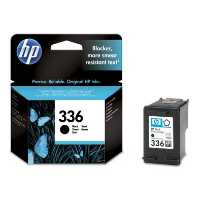 HP 336 Black Ink Cart, 5 ml, C9362EE