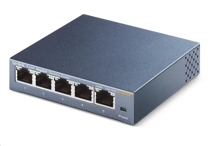 TP-Link TL-SG105 5x10/100/1000 Desktop Switch