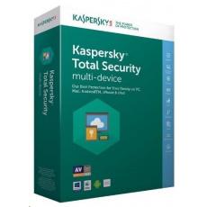 Kaspersky Total Security CZ multi-device, 3 zařízení, 1 rok, nová licence, BOX