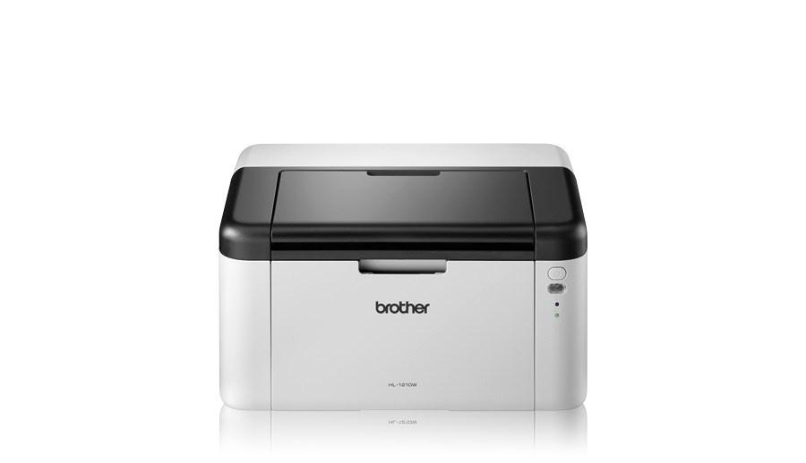BROTHER tiskárna laserová mono HL-1210WE - A4, 20ppm, 2400x600, 32MB, GDI, USB 2.0, WIFI - v ceně toner 1000stran