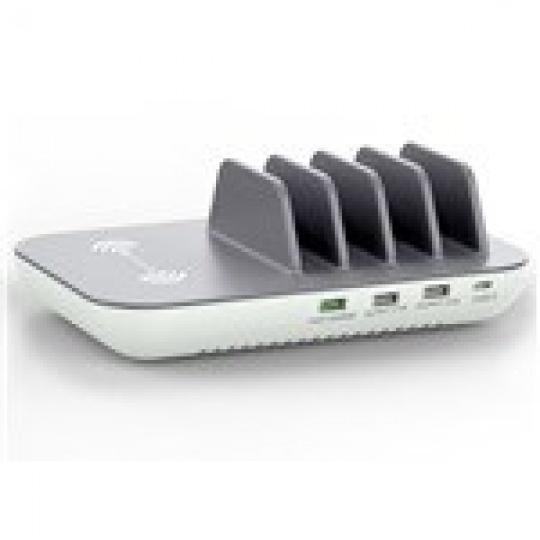 4smarts nabíjecí stanice Inductive Family+, 50W, až pro 5 zařízení
