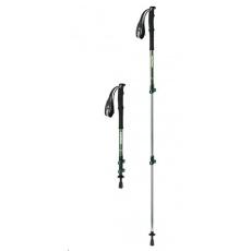 Naturehike teleskopická treková hliníková hůlka ST01 62-135cm 255g - zelená