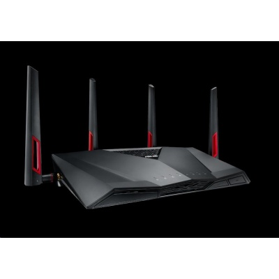 ASUS RT-AC88U Wireless AC3100 Gigabit Router, 8 portů gigabit LAN