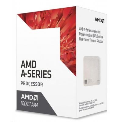 CPU AMD A6 9400 (Bristol Ridge), 2-core, 3.7GHz, 1MB cache, 65W, socket AM4, VGA Radeon R5, BOX