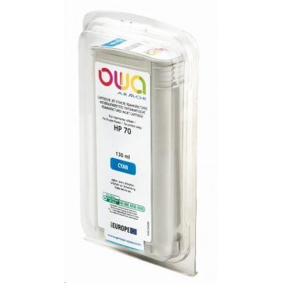 OWA Armor cartridge pro HP DesignJet Z 2100, 3100, 130ml, C9452A, Cyan