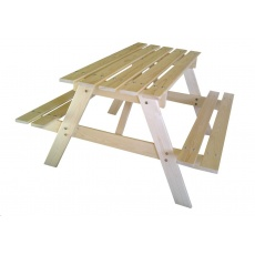 Marimex Dětská dřevěná souprava PIKNIK 70 cm