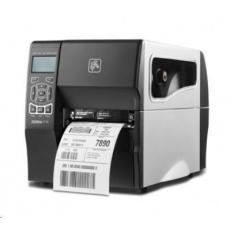 Z VÝSTAVY - Zebra ZT230, 8 dots/mm (203 dpi), odlepovač, display, EPL, ZPL, ZPLII, USB, RS232, Ethernet