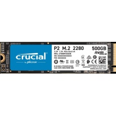 Crucial SSD P2 500GB, M.2 (2280), NVMe, TLC
