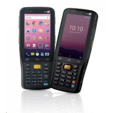 CipherLab RK25: Přenosný ruční počítač s 25 kláv., Android 9.0, 2D, GMS, WVGA, USB kit