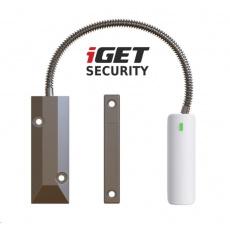 iGET SECURITY EP21 - Bezdrátový magnetický senzor pro železné dveře/okna/vrata pro alarm iGET SECURITY M5