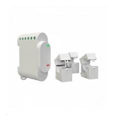 SHELLY 3EM + 3x 120A Svorky - měření spotřeby, výstup 1x10 (Wi-Fi)