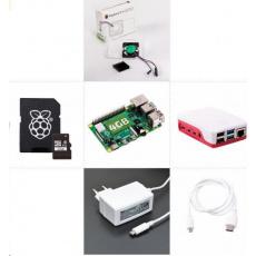 Raspberry Sada Zonepi Raspberry Pi 4, 4GB RAM, 32GB karta, oficiální krabička, bílá