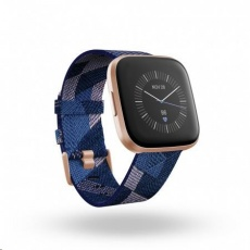 Fitbit Versa 2 Special Edition (NFC) - Navy & Pink Woven