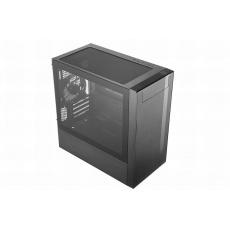 BAZAR Cooler Master case MasterBox NR400, 2x USB3.0, Micro-ATX/Mini-ITX, Mini Tower, černá - POŠKOZENÁ KRABICE