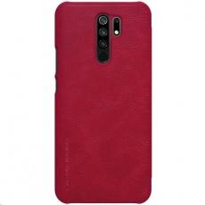 Nillkin Qin Leather Case pro Xiaomi Redmi 9 Red