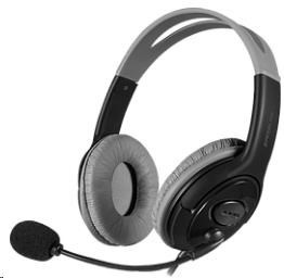 SPEED LINK sluchátka LUTA Stereo Headset, black