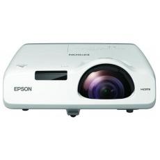 EPSON projektor EB-530, 1024x768, 3200ANSI, HDMI, VGA, LAN, SHORT, 10.000h ECO životnost lampy, REPRO 16W, 5 LET ZÁRUKA