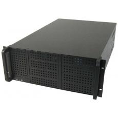 CHIEFTEC skříň Rackmount 4U ATX/EATX, UNC-410F-B-50R, 2x500W, Black