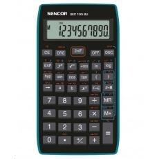 Sencor kalkulačka  SEC 105 BU - školní, 10místná, 56 vědeckých funkcí