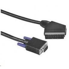 PREMIUMCORD Kabel VGA - Scart 2m (M/M)