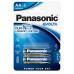 PANASONIC Alkalické baterie EVOLTA Platinum LR6EGE/2BP AA 1,5V (Blistr 2ks)