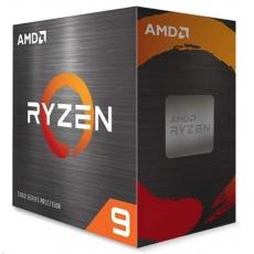 CPU AMD RYZEN 9 5900X, 12-core, 3.7 GHz (4.8 GHz Turbo), 70MB cache (6+64), 105W, socket AM4, bez chladiče