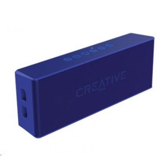 Creative repro Muvo 2 mobilní vodovzdorný bezdrátový reproduktor - modrý