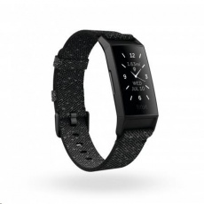 Fitbit Charge 4 Special Edition (NFC) Granite w integrated GPS & FitbitPay - Refl/Blk
