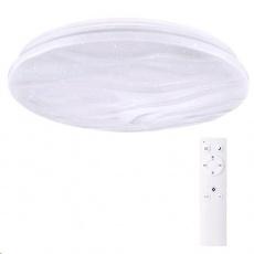 Solight LED stropní světlo Wave, 30W, 2100lm, stmívatelné, změna chromatičnosti, dálkové ovládání