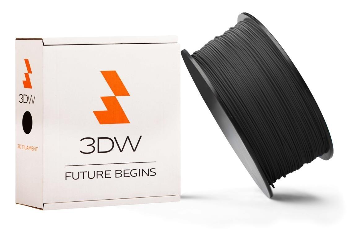 PLA 3DW ARMOR filament, průměr 2,9mm, 1Kg, Černá