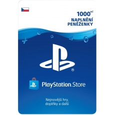 SONY PlayStation Live Cards Hang 1000,- CZK