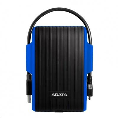 """ADATA Externí HDD 1TB 2,5"""" USB 3.1 DashDrive™ Durable HD725, modrý (blue)"""