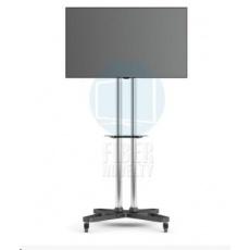 Televizní stojan Fiber Novelty FN1021S chrom