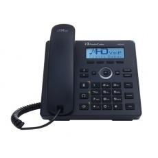 AudioCodes IP telefon 420HD, grafický displej, 10/100/1000 Mbps, PoE, černá, napájecí zdroj