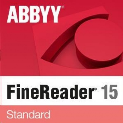 ABBYY FineReader 15 Corporate, Single User License (ESD), GOV/NPO, Perpetual