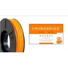 FILAMENT Panospace type: PLA -- 1,75mm, 750 gram per roll - Oranžová