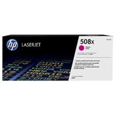 HP 508X High Yield  Magenta LJ Toner Cartridge, CF363X