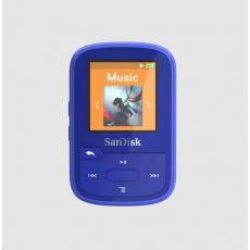 SanDisk Clip Sport Plus MP3 Player 32GB, Blue