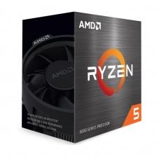 CPU AMD RYZEN 5 5600X, 6-core, 3.7 GHz (4.6 GHz Turbo), 35MB cache (3+32), 65W, socket AM4, Wraith Stealth
