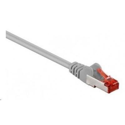 Intellinet Patch kabel, Cat6, S/FTP, LSOH, 20m, šedý