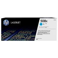 HP 508X High Yield  Cyan LJ Toner Cartridge, CF361X