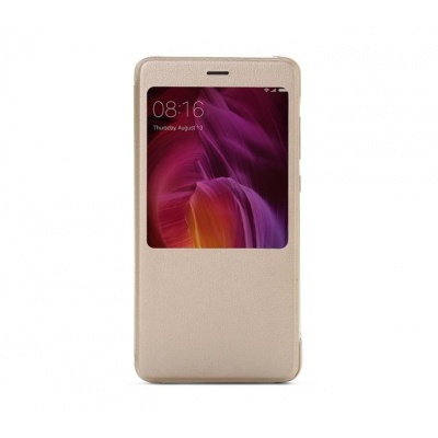 redmi note 4 smart view flip gold
