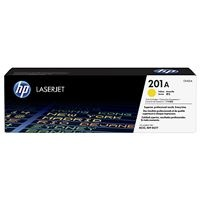 HP 201A Yellow LJ Toner Cartridge, CF402A