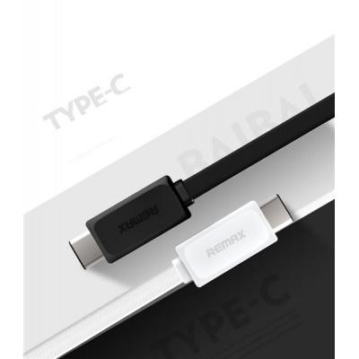 REMAX Datový kabel USB / USB C - nový model , barva černá