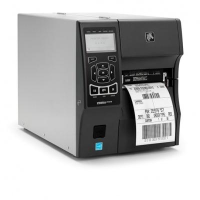 ZEBRA ZT410 průmyslová tiskárna, 203dpi, 104mm, USB, RS232, LAN, BT, DT/TT, EZPL