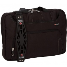 """i-stay Black 15.6"""" & Up to 12"""" Organiser Laptop / Tablet Bag"""