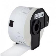 PRINTLINE kompatibilní s Brother DK-11208, papírové bílé, široké adresy, 38 x 90mm, 400 ks