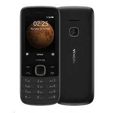 Nokia 225 4G 2020, Dual SIM, černá