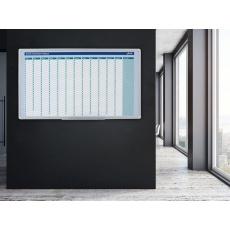 Plánovací tabule AVELI, roční,104x60 cm